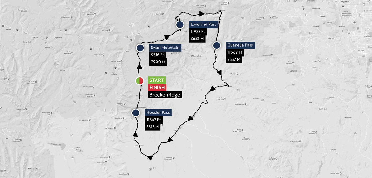 2018 haute route rockies course unveiled road bike news for Haute route 2018