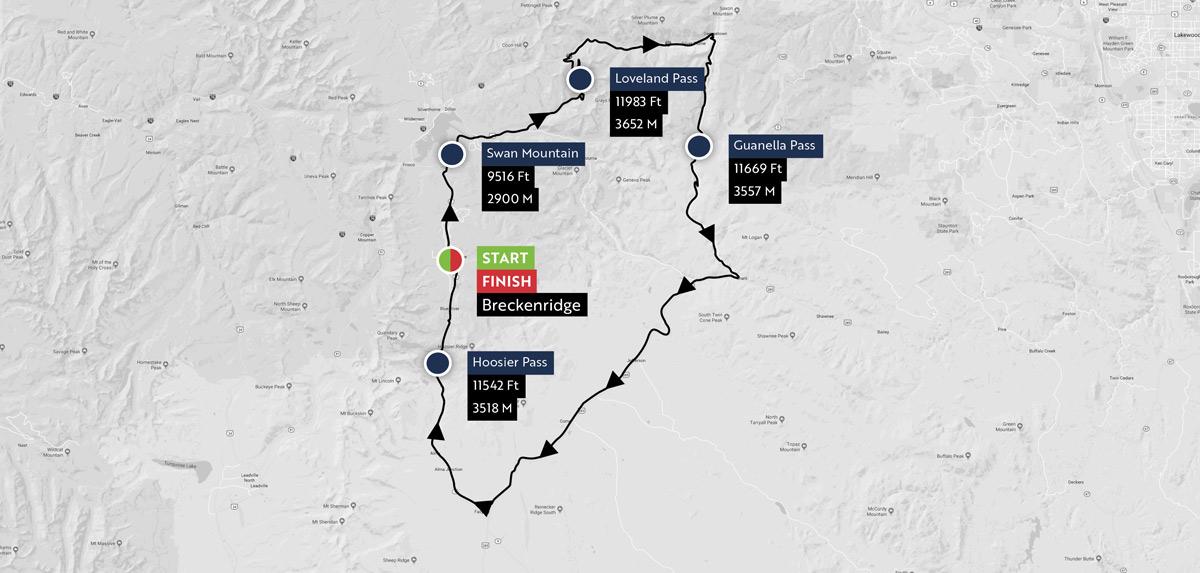 Haute Route Rockies Maps 6