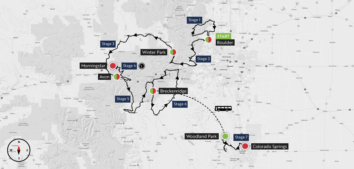 Haute Route Rockies Maps