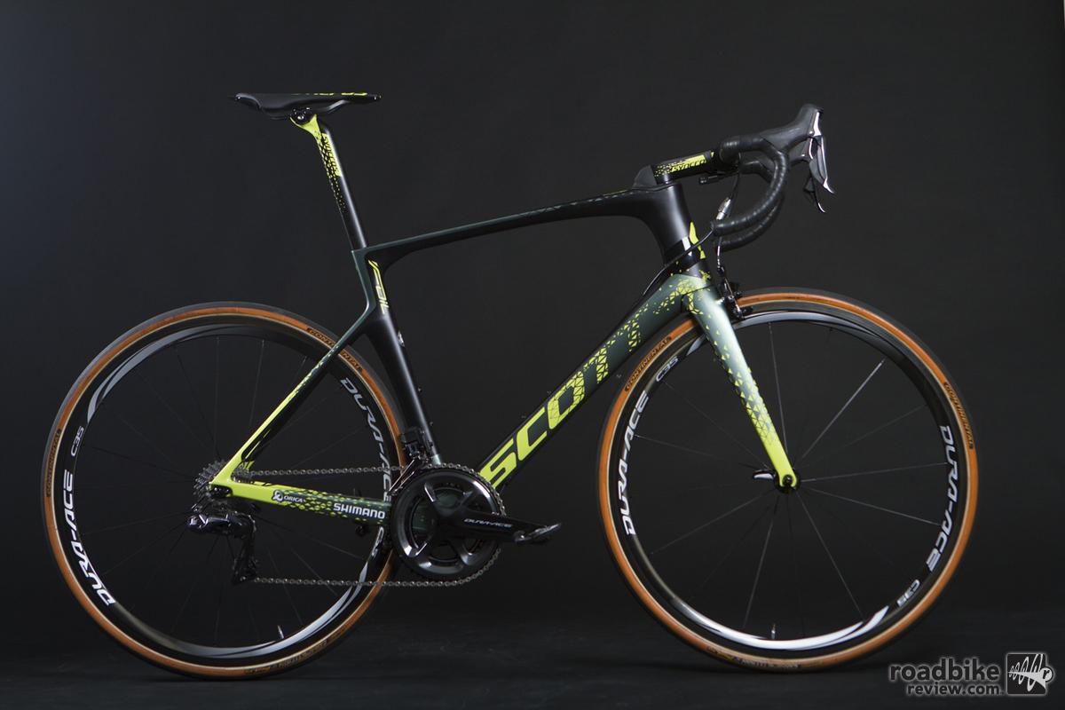 Mat Hayman's Paris-Roubaix Scott Foil