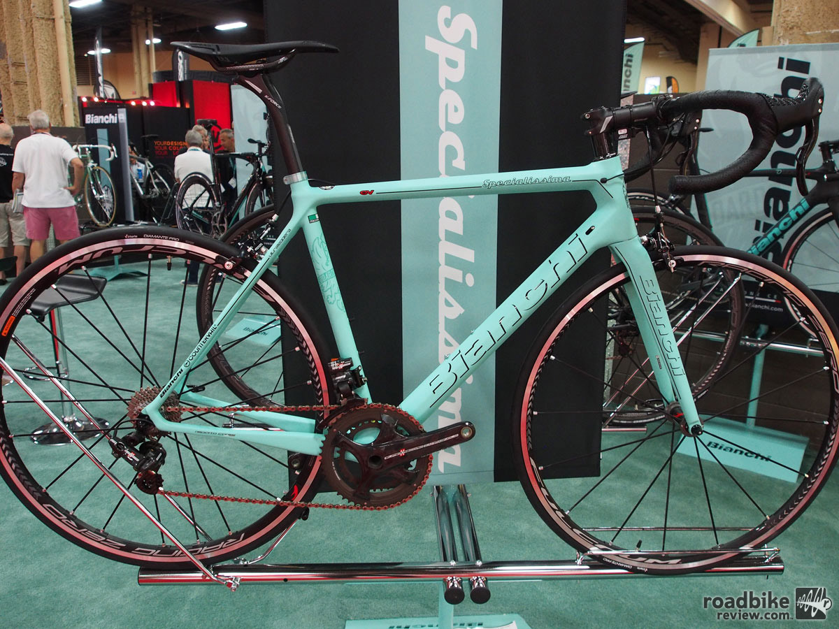 This Bianchi beauty was our favorite from an intriguing crop of 2016 road bikes.