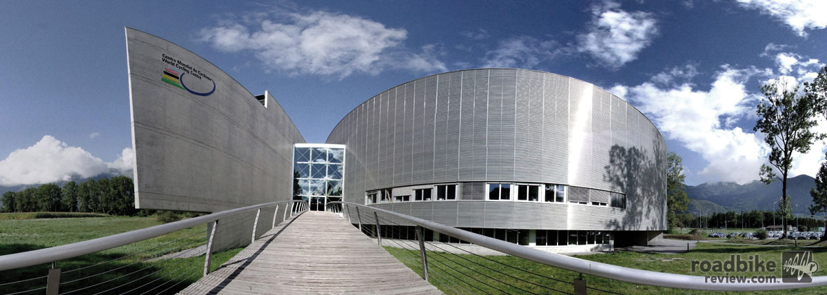 Setting for the effort was the velodrome in Aigle, Switzerland.