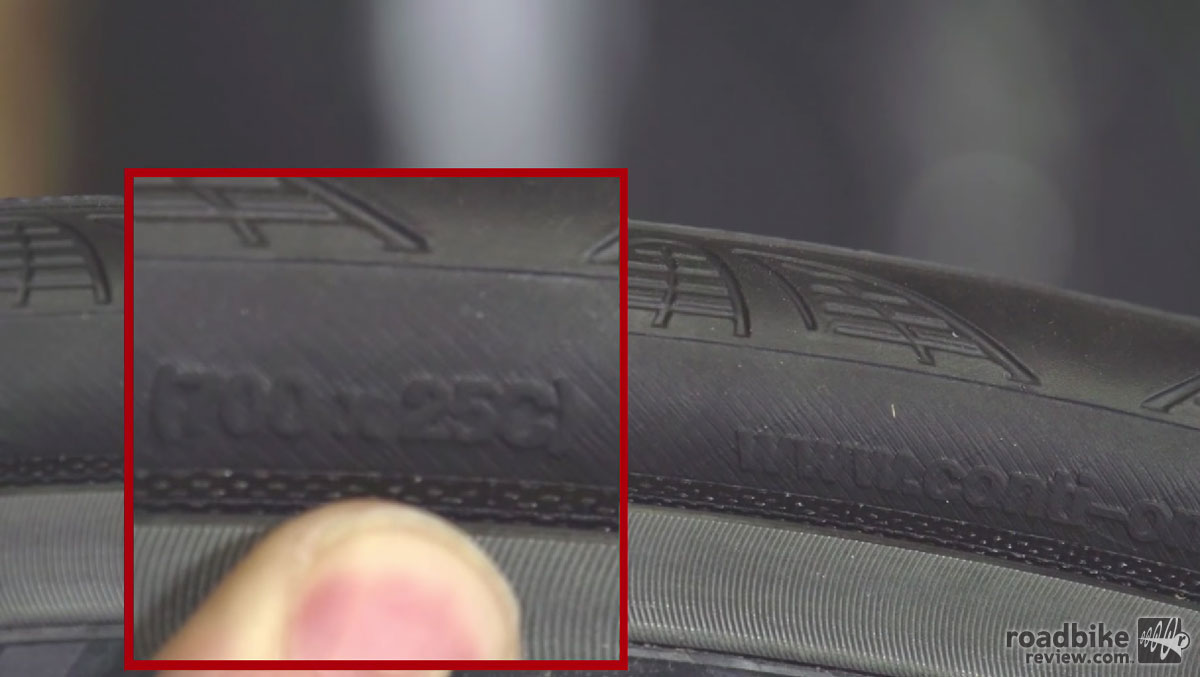 To select the correct size, check the sidewall of your tire.