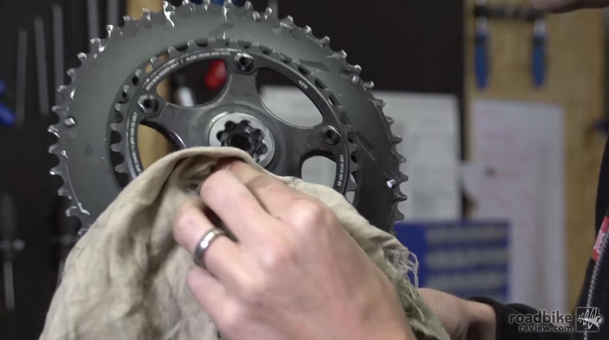 how to stop bottom bracket creaking