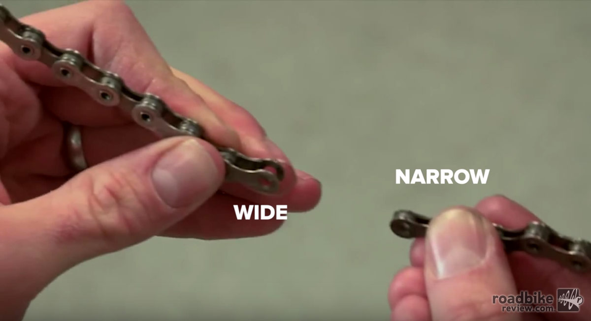 If your chain doesn't have a quick link, make sure you are joining narrow to wide.