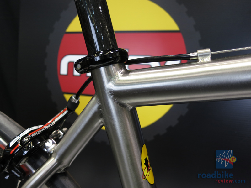 Ti Cycles Ultralight Compact Road Bike
