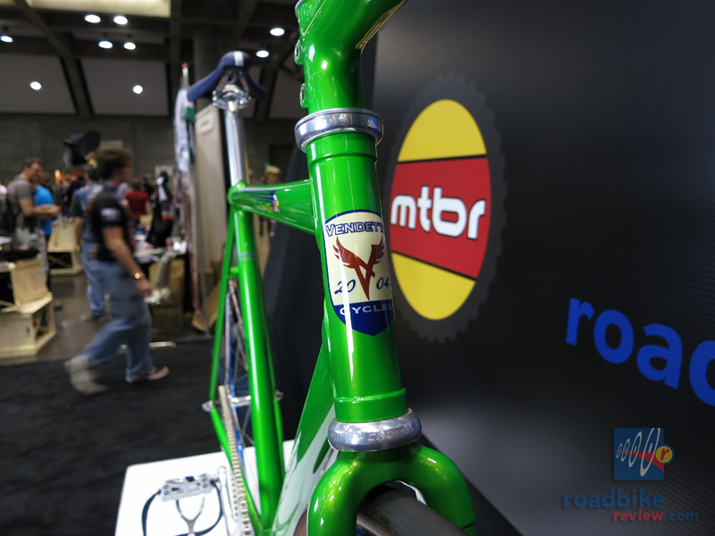 Vendetta Cycles Best Finish of the Show Track Bike