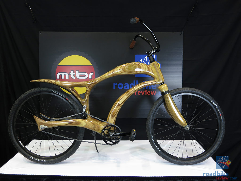 Bekes Wooden Cruiser Bike