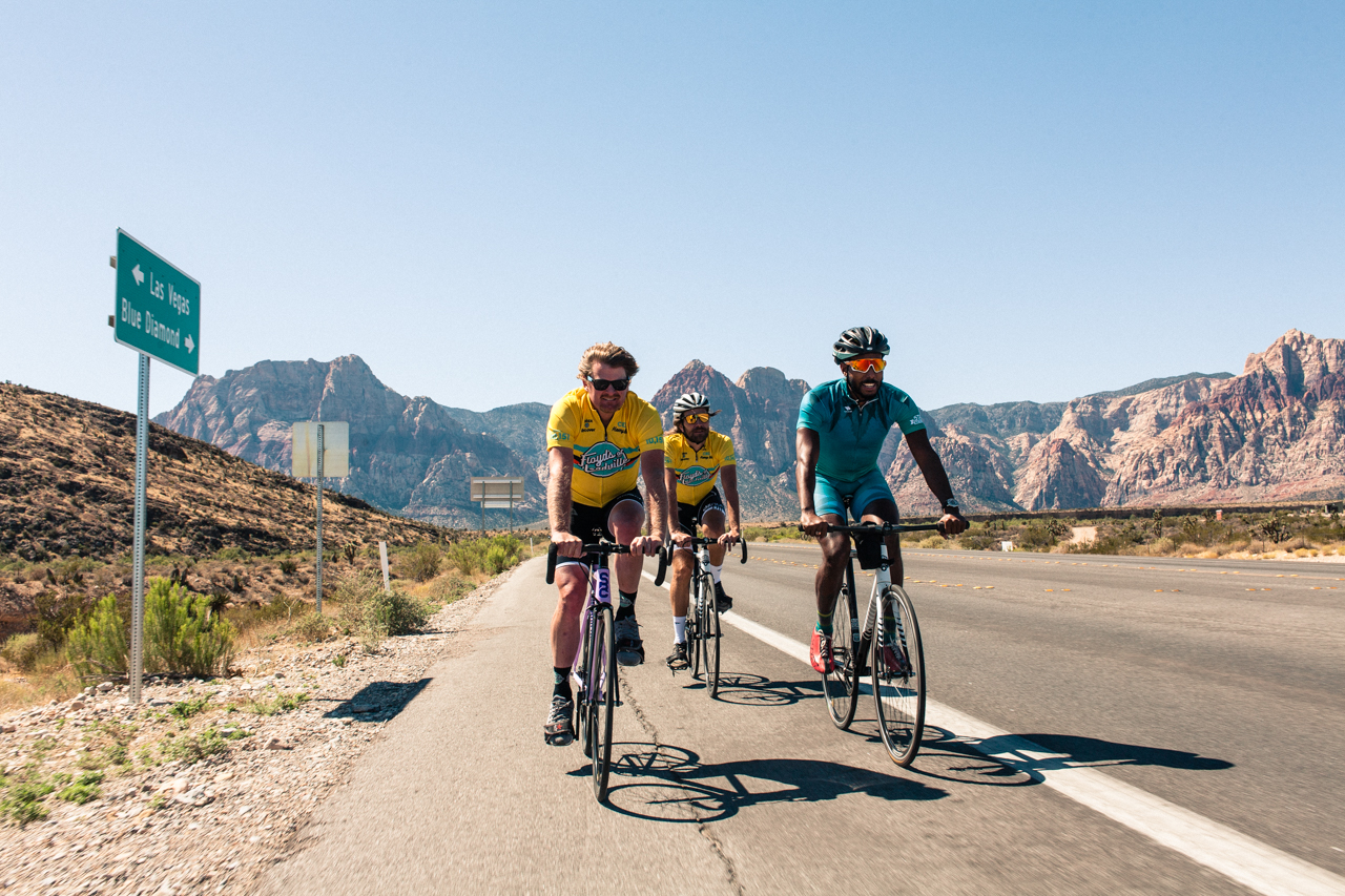 Riding Fixed Up Mountains With Pros
