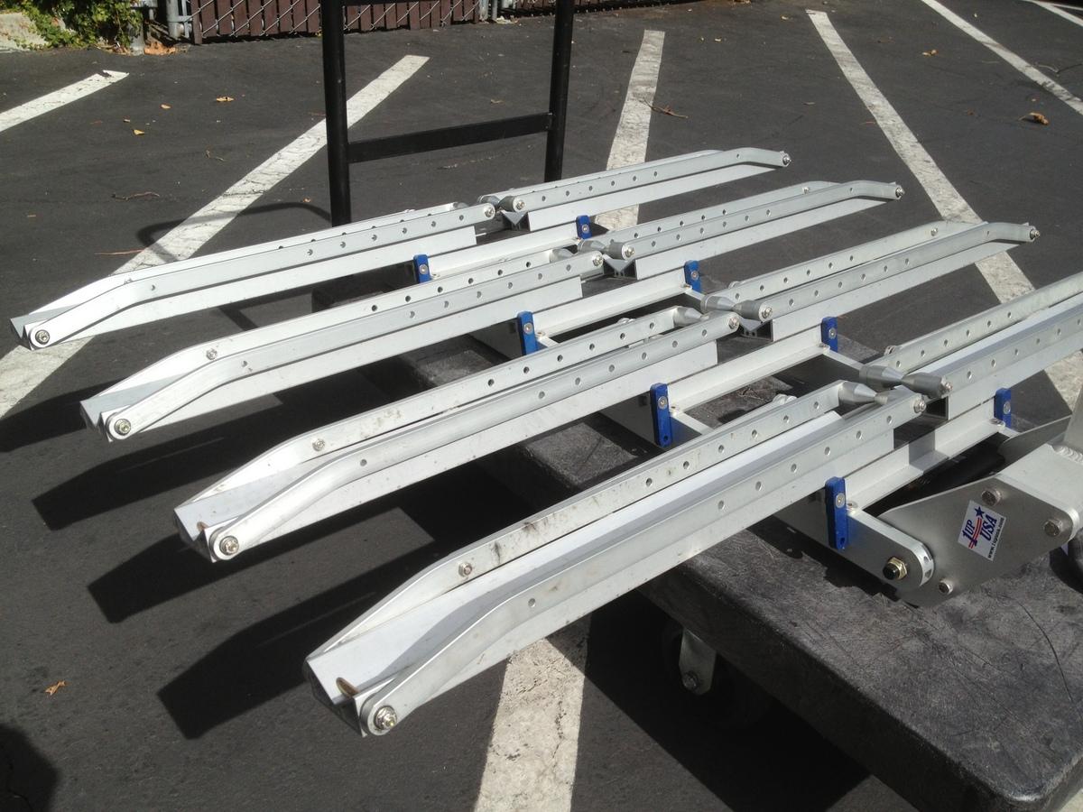 1up USA Bike Rack four trays