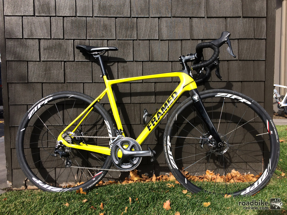 Framed Rodez road bike review
