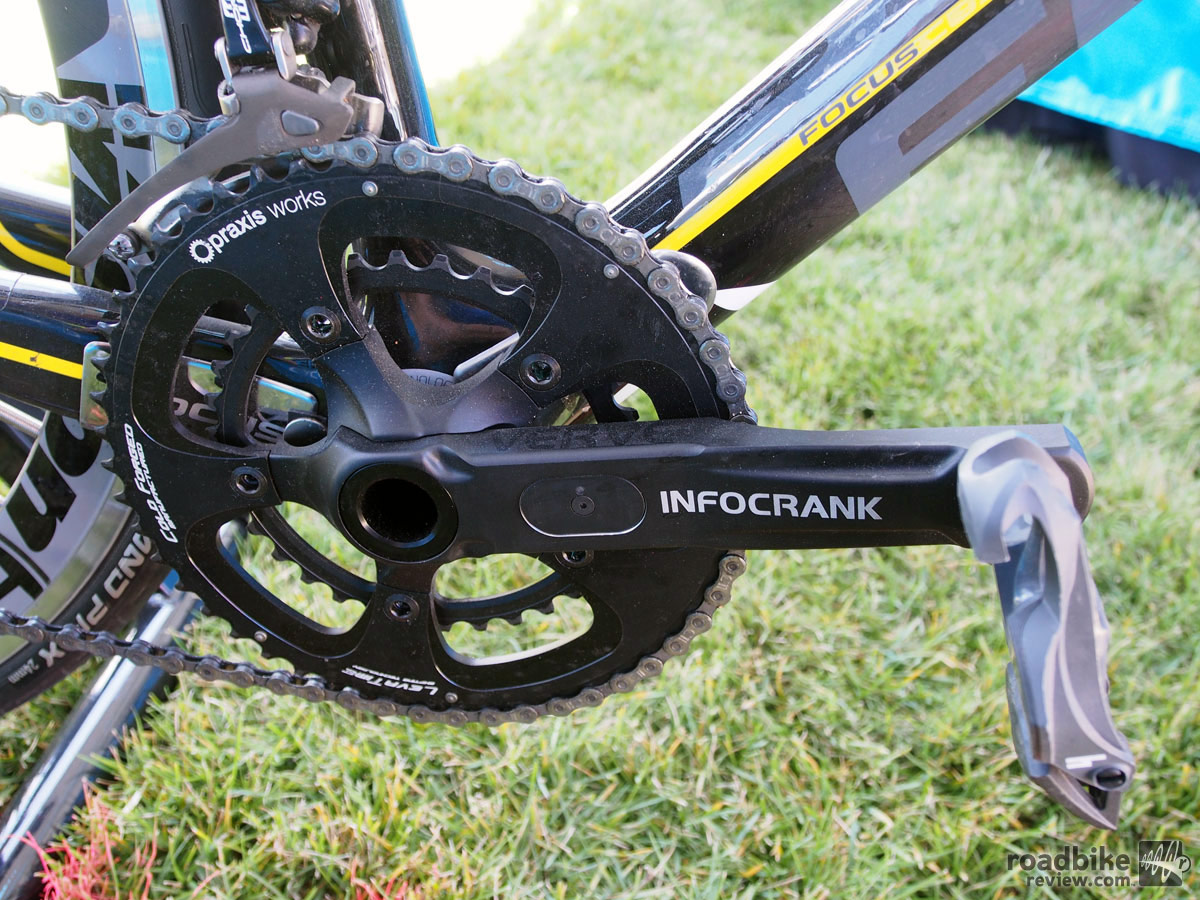 InfoCrank on bike
