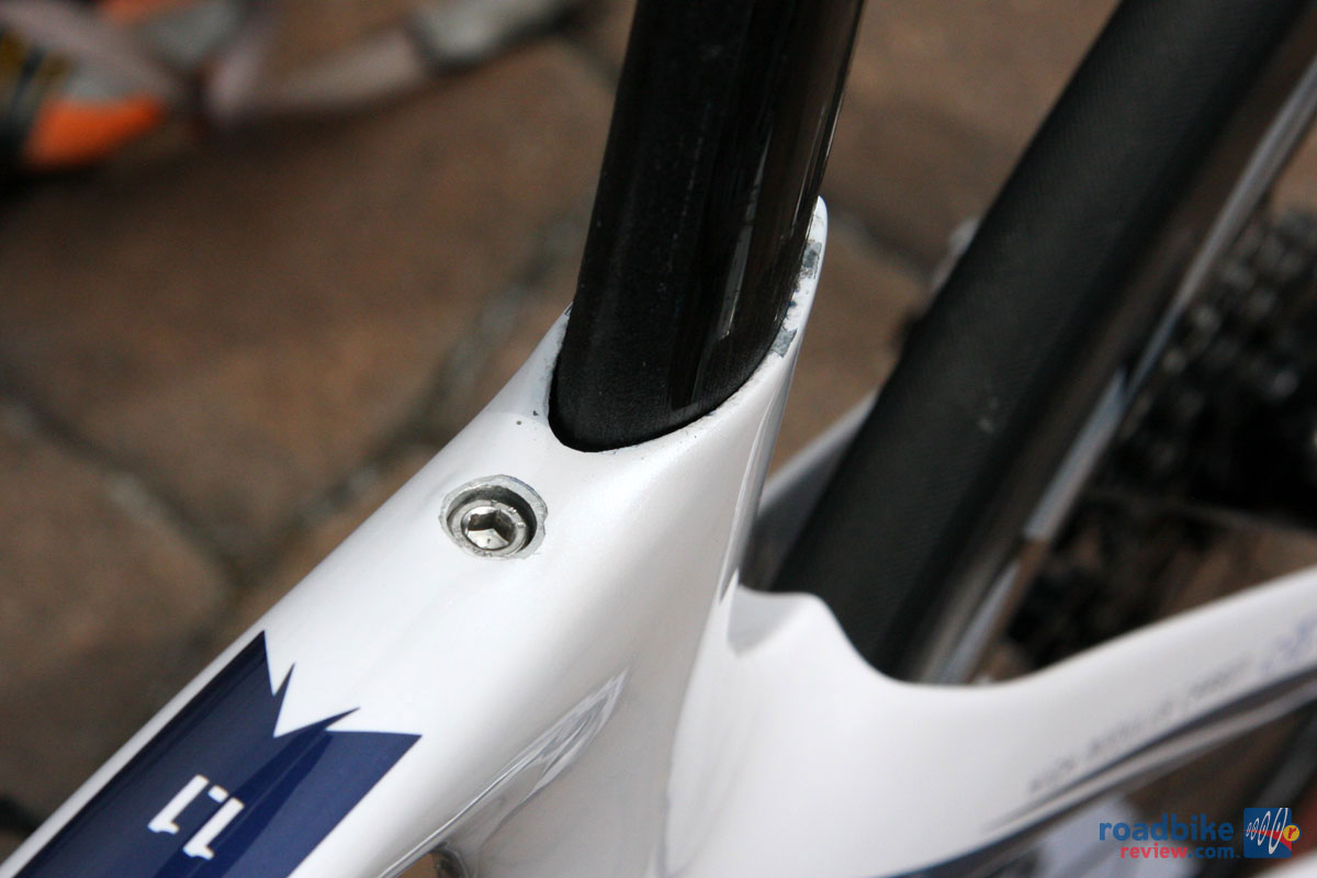 Integrated Seat Post