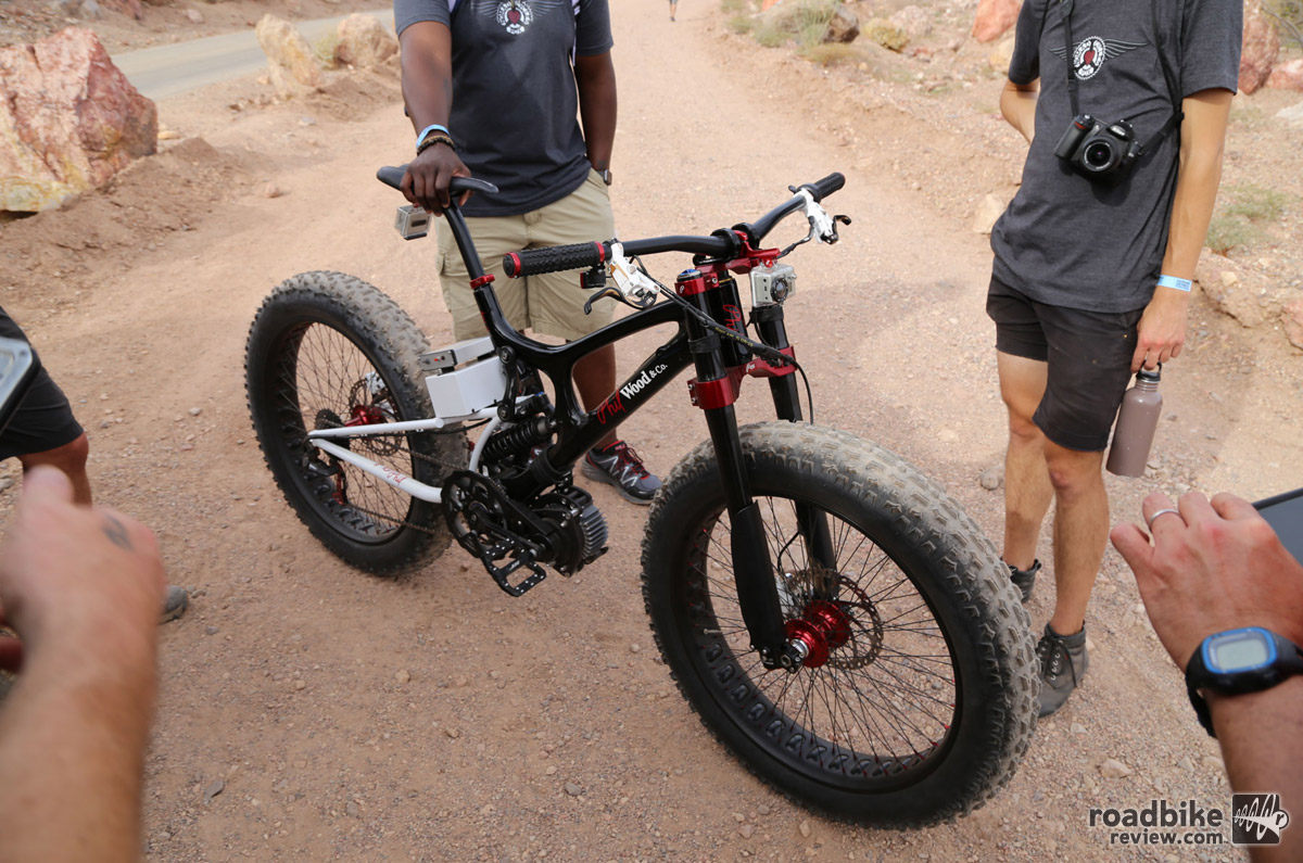 Phil Wood V10 fat bike.