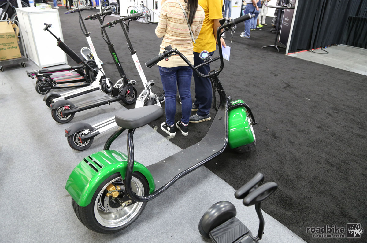 American chopper-inspired e-scooter.