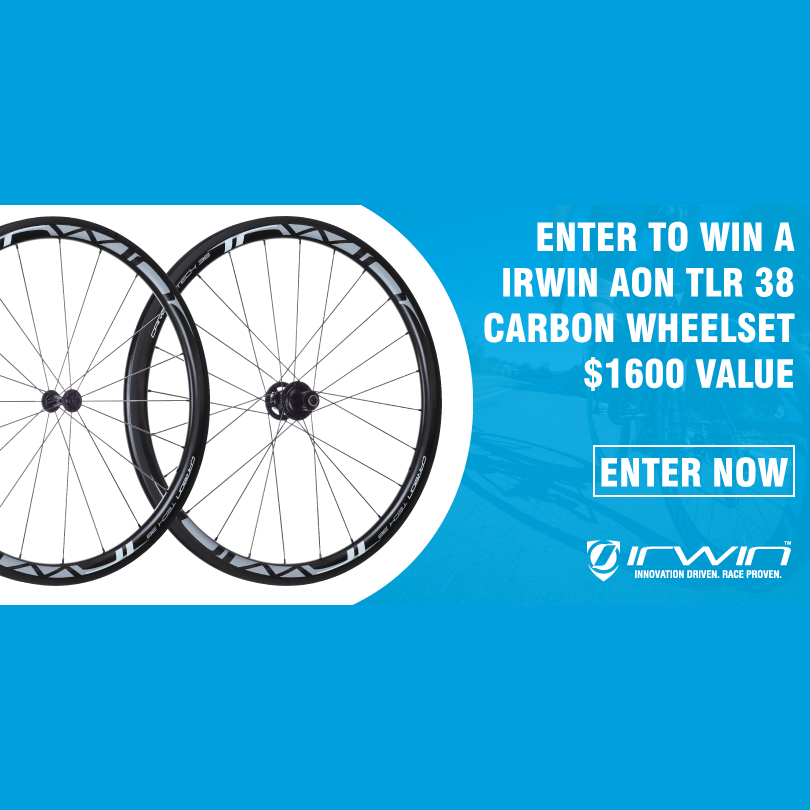 Win a Tubeless Ready Carbon Wheelset by Irwin Cycling