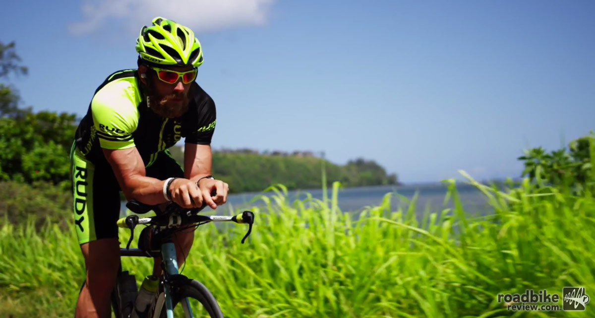 James Lawrence is attempting to complete 50 ironman distance triathlons in 50 days, one in every state.