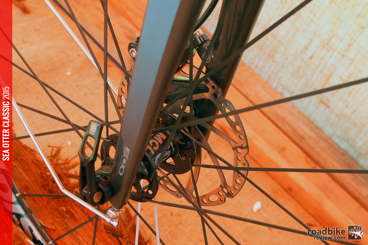 Thru-axles and disc brakes are included on all four bikes in the line.