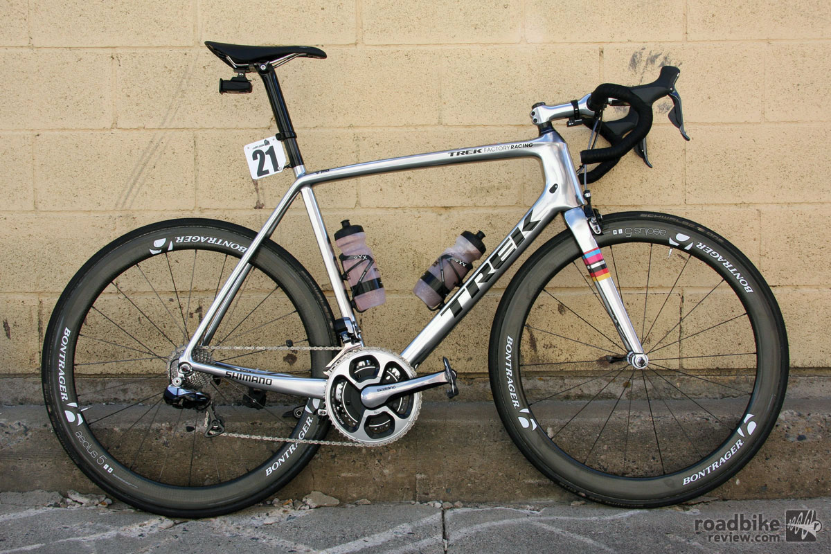 Pro Bike: Jens Voigt's Colorado Chrome Trek Madone