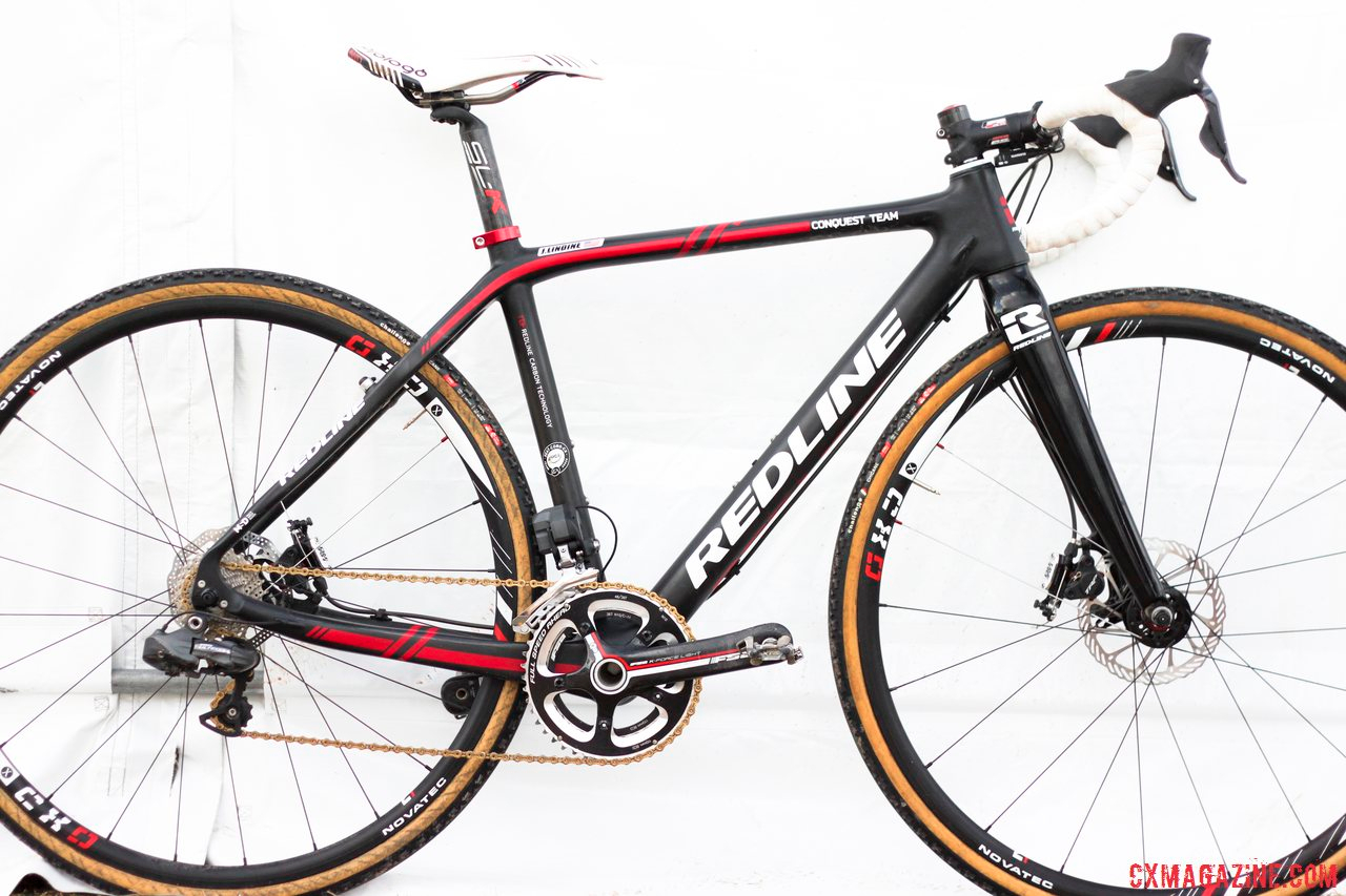 Justin Lindine's Redline Conquest Team Disc CX Bike