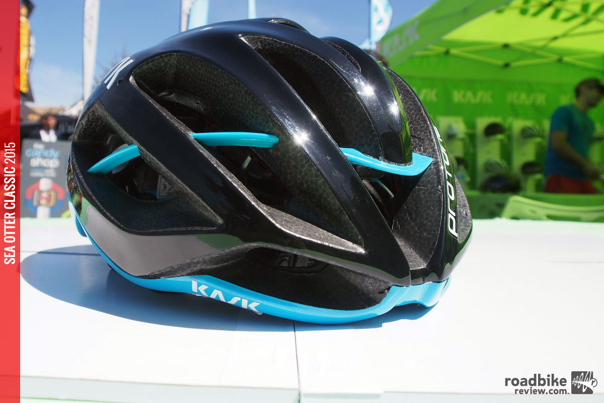 Look for Team Sky to be rocking this lid during the Giro d'Italia and Tour de France.