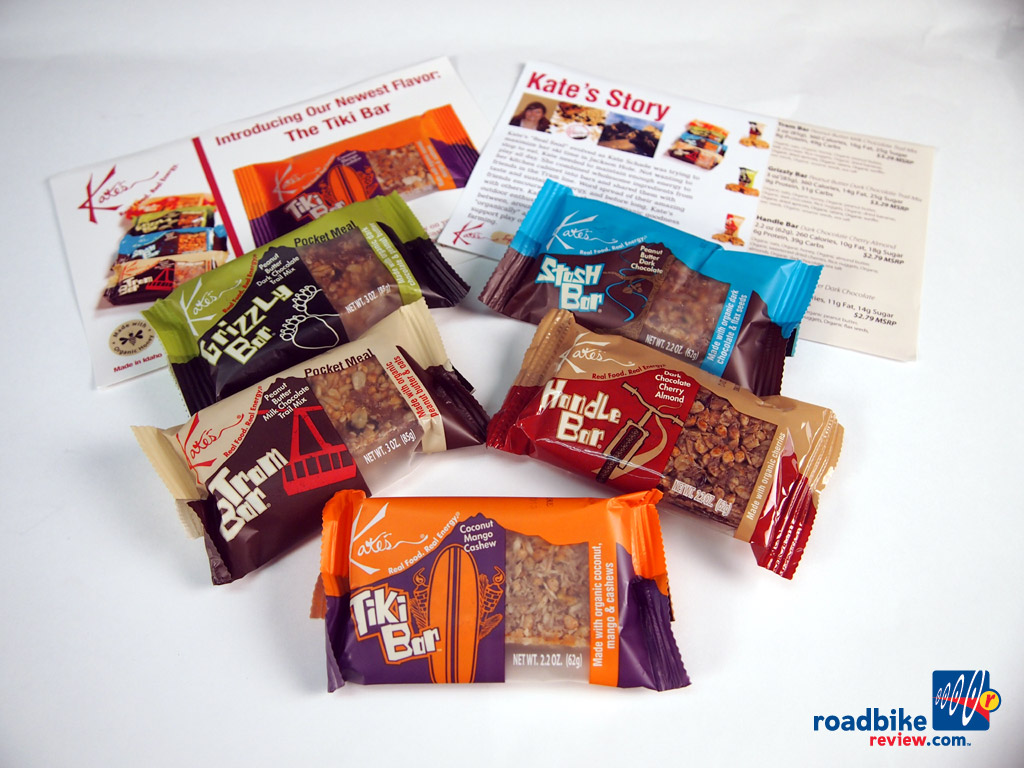 Kate's Real Food - energy bars
