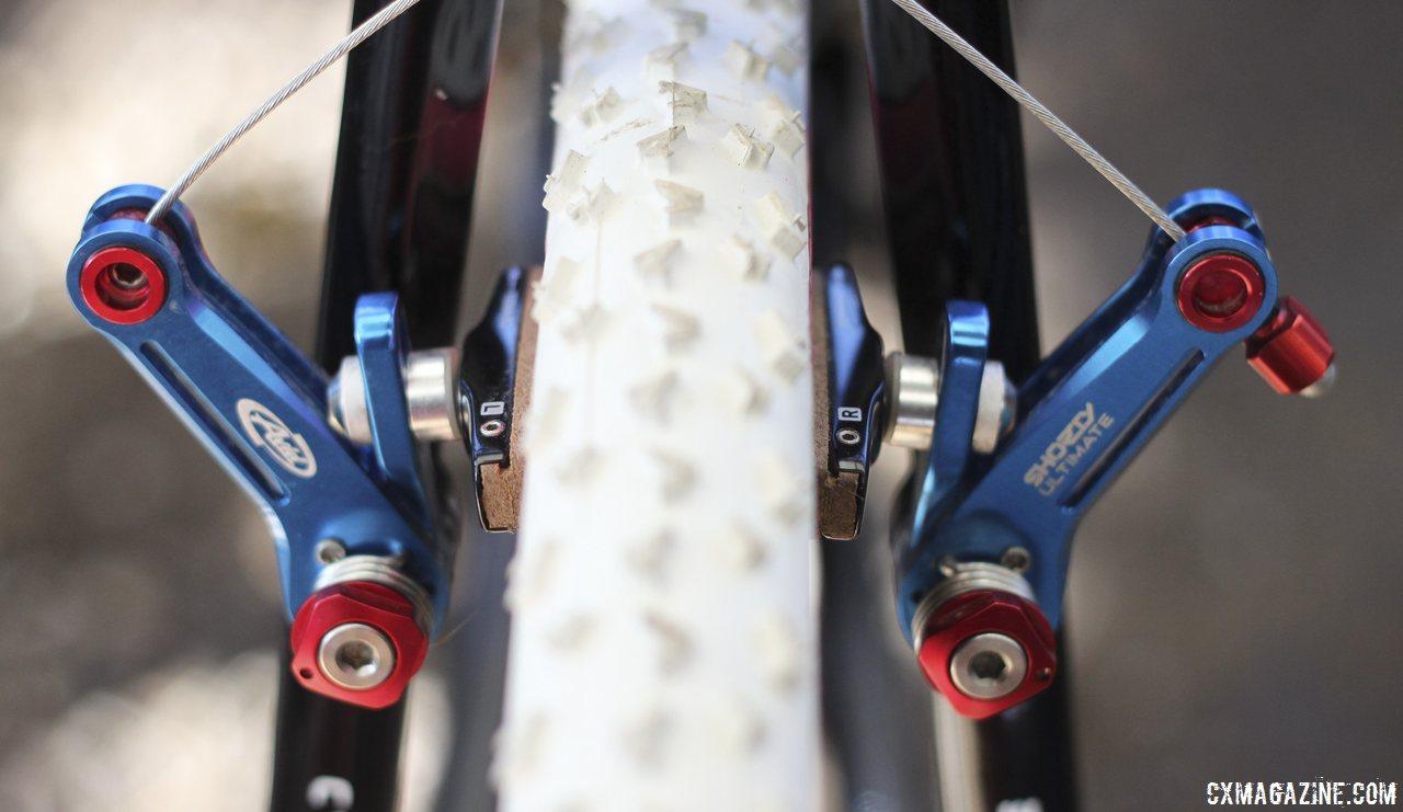 Zipp's Cork Pads on Zipp 303 Wheels