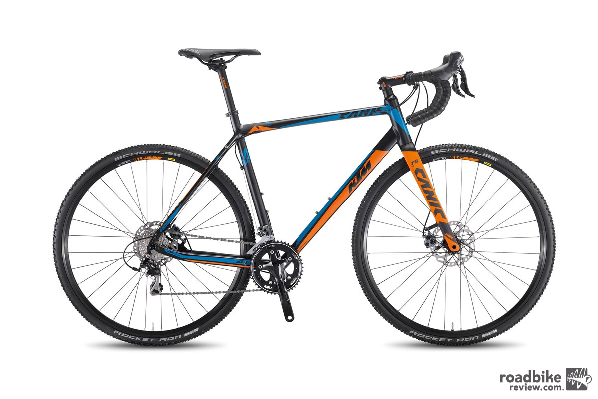 KTM offers a more affordable version of the Canic with an alloy frame.