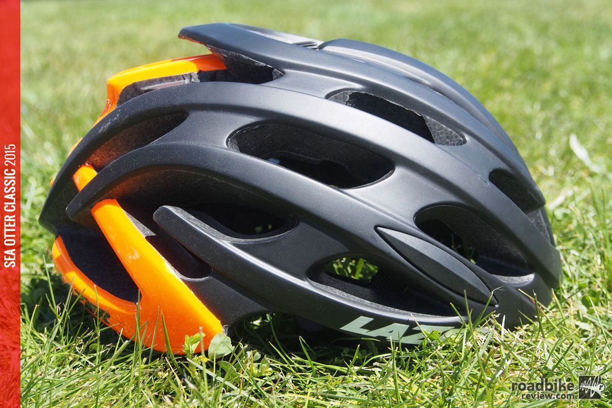 Available in a multitude of colors, including this snappy black/orange model.