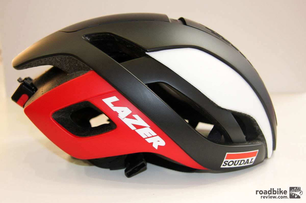 Lazer attempts to limit compromise with its new wind cheating lid.