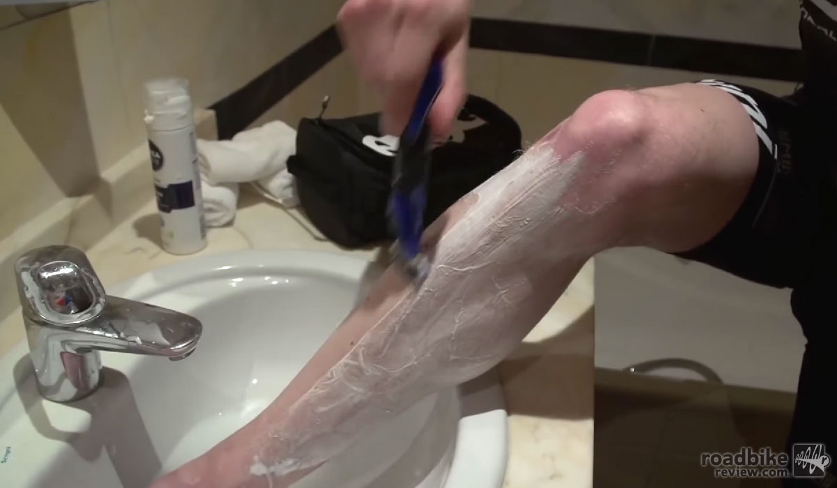 You've shaved your legs.