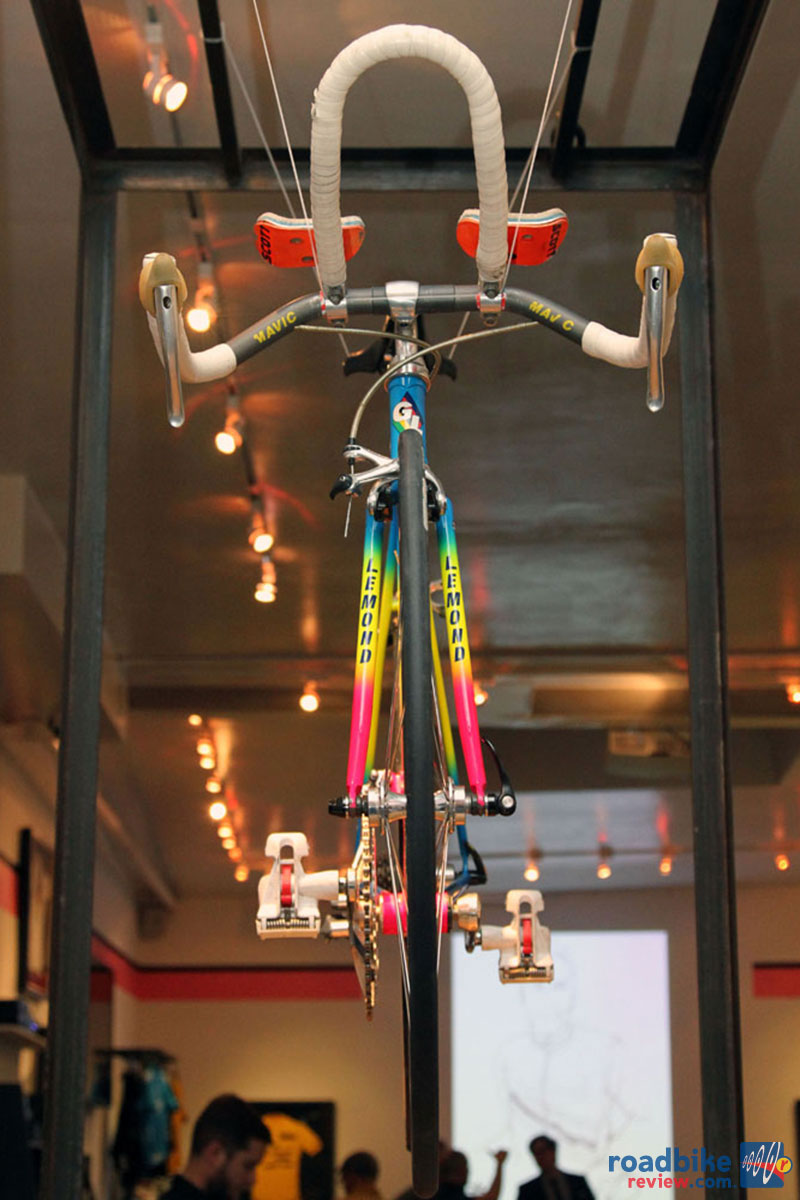 LeMond Aer Bars Rapha Exhibit