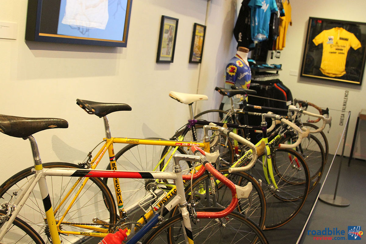 LeMond Rapha Exhibit Bikes
