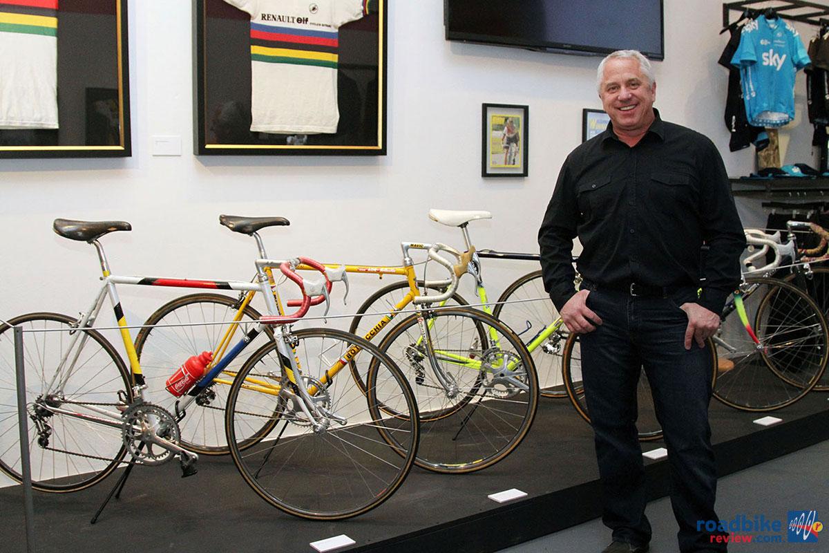 Greg LeMond Team Gan Retro Cycling Jersey