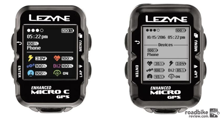 The Micro shares the same feature set at the Super GPS in a more compact size.