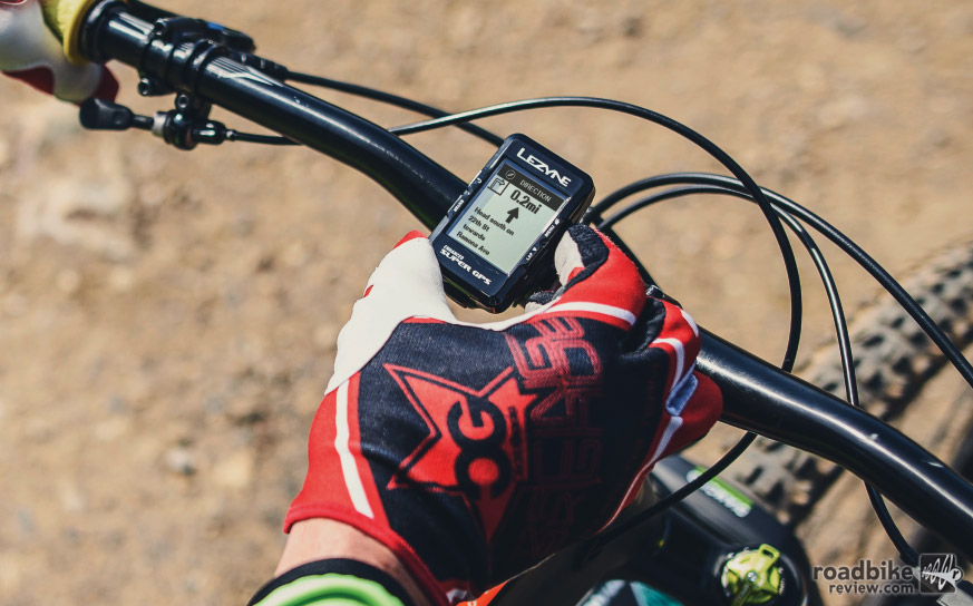 The Super GPS is Lezyne's premium model. It can connect with both Ant+ and Bluetooth devices.