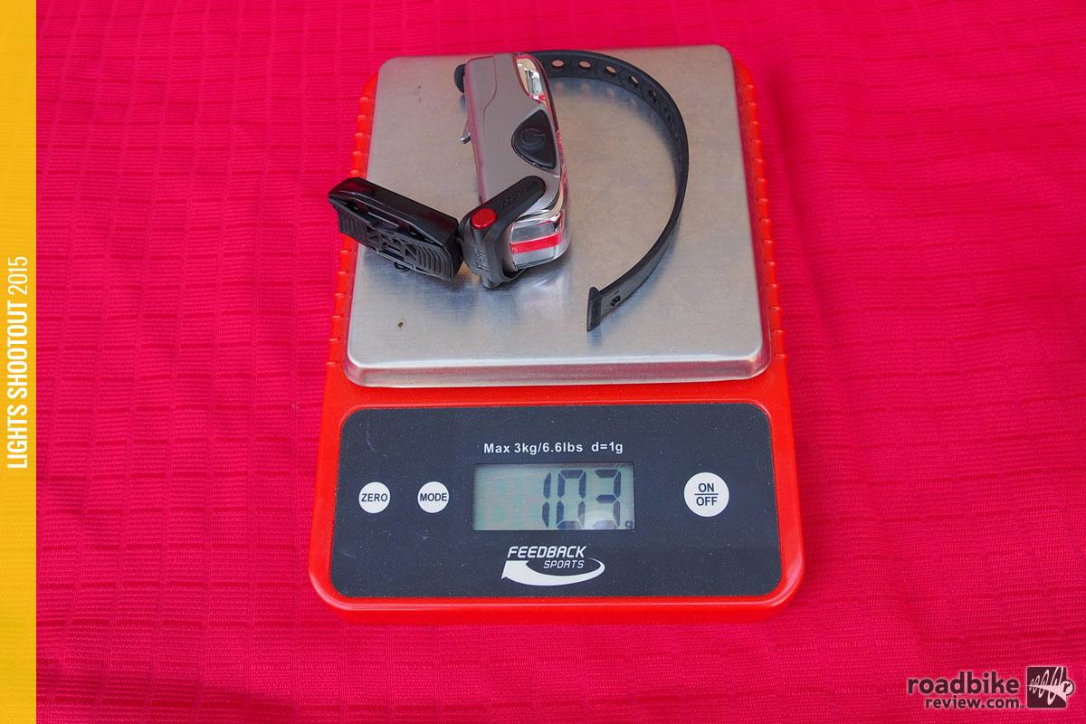 Light & Motion Vis 180 Weight