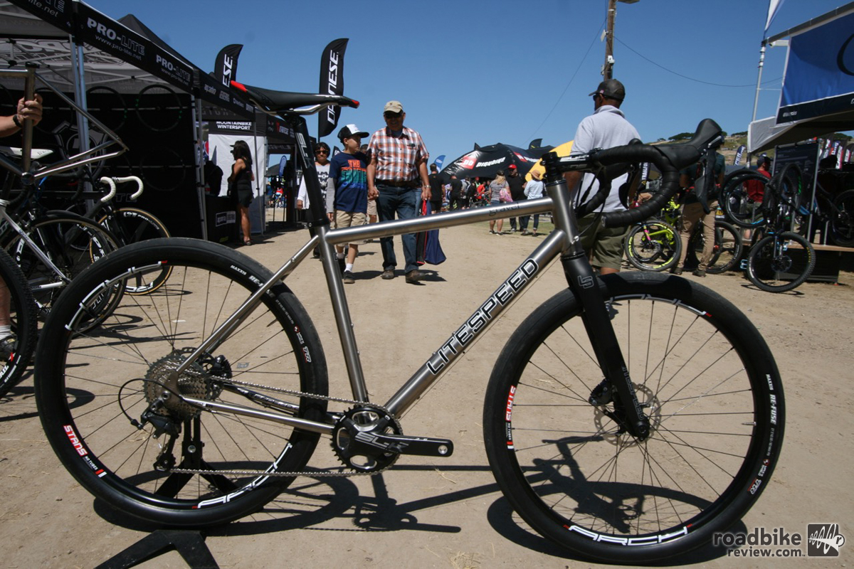 Litespeed Gravel titanium bike launched