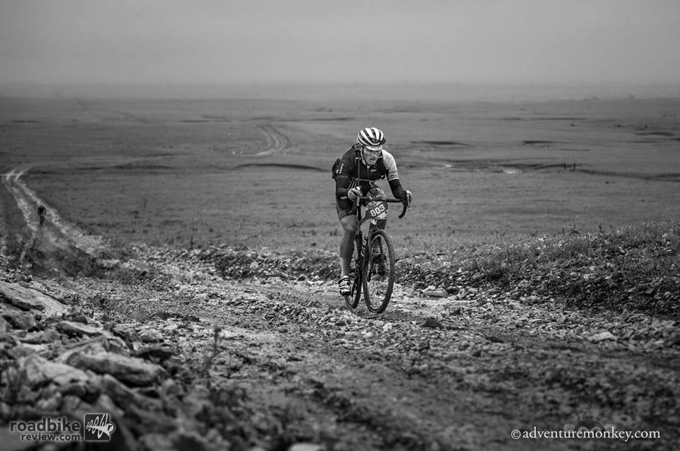In the last 50 miles, Yuri made up 22 minutes on the leader. Photo by Adventuremonkey.com