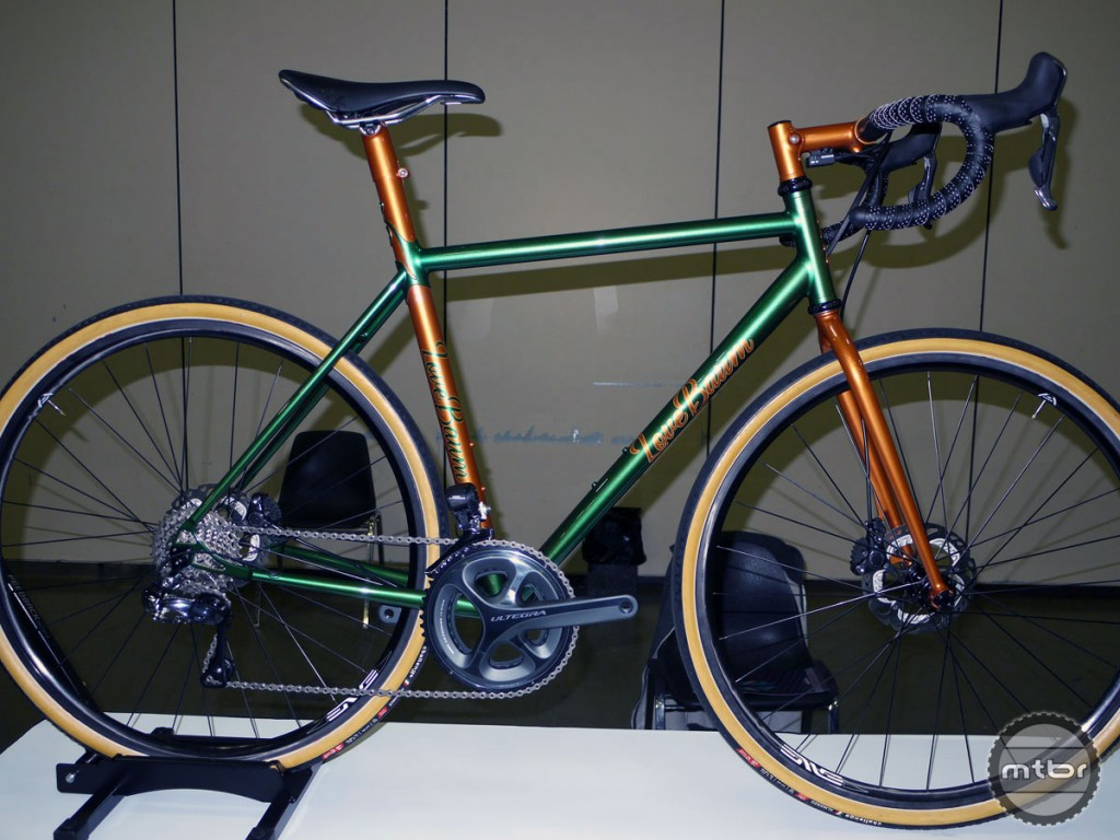 LoveBaum Bicycles' Chad Lovings won the prestigious Best New Builder Award 2015 with impressive details and ingenuity found throughout his gravel road bike.