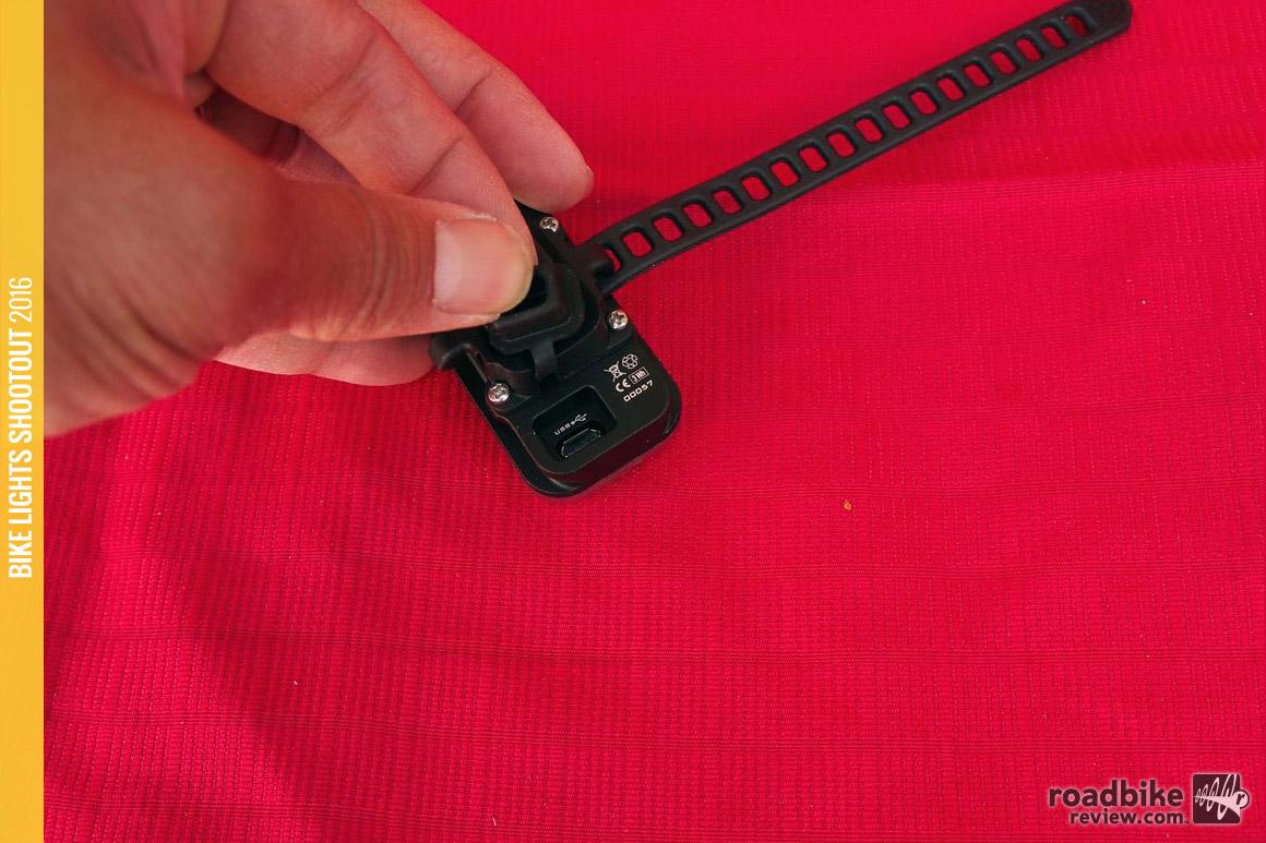 Lupine-Rotlicht-USB-port