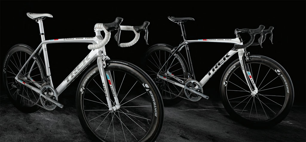 Trek Madone and Domane