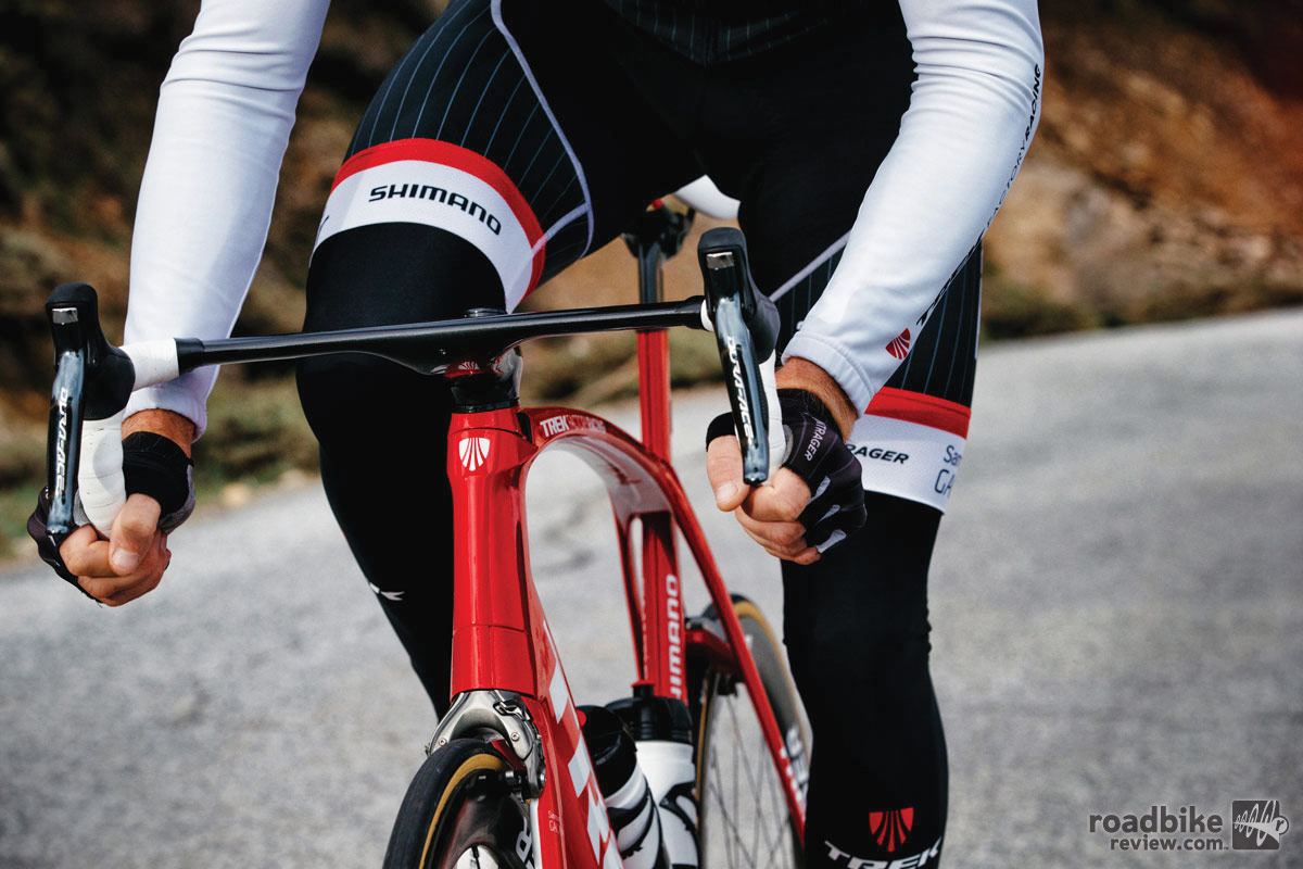 Trek continues its use Kammtail tube shapes.