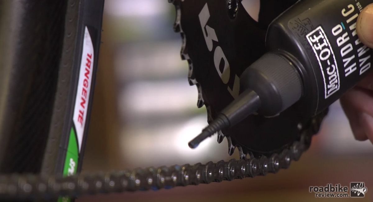 Keep your bike clean and properly lubricated.