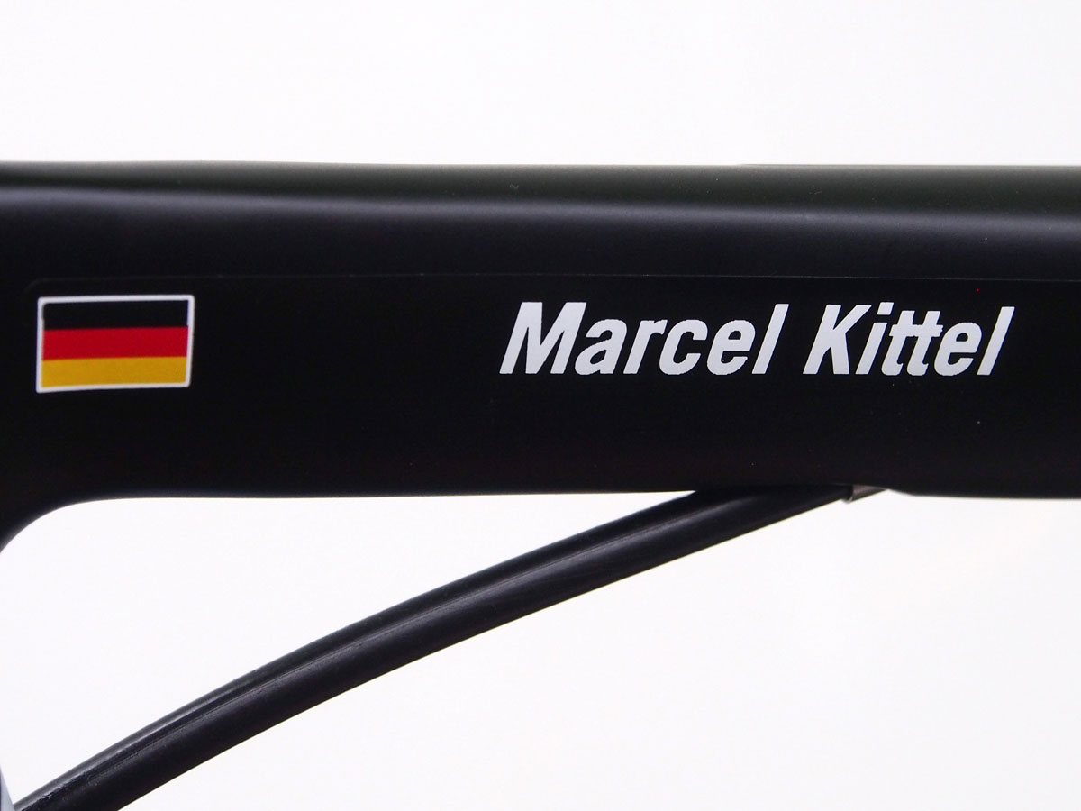 Marcel Kittel's yellow Giant Propel Advanced SL