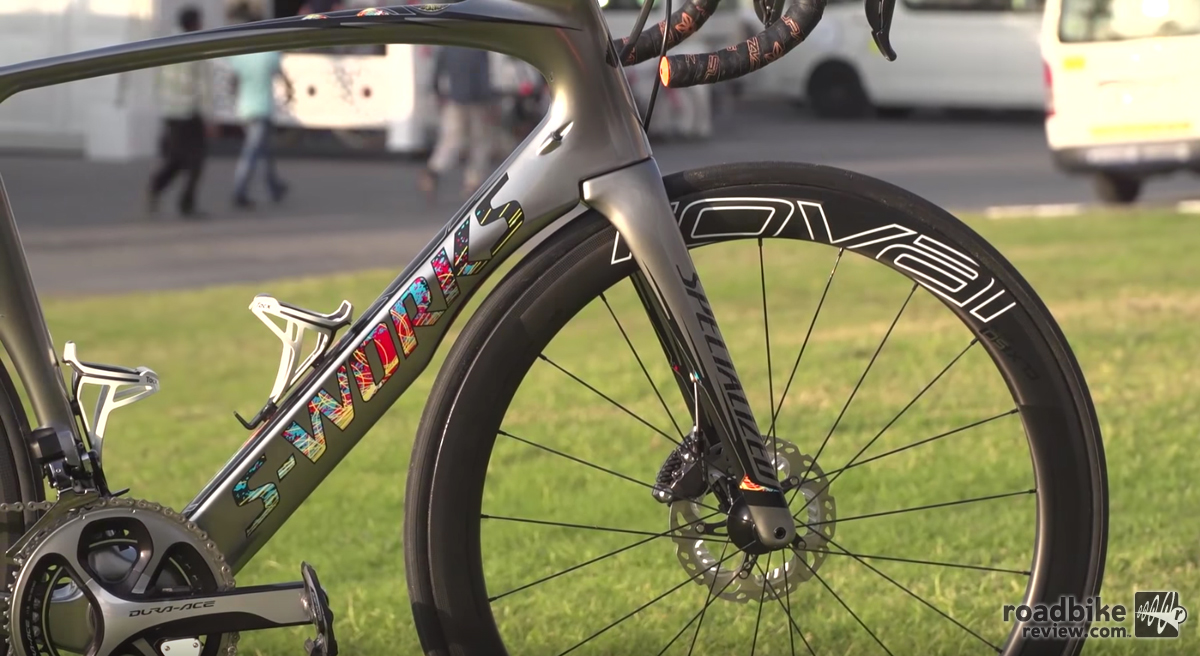 Marcel Kittel's Specialized Venge ViAS Disc