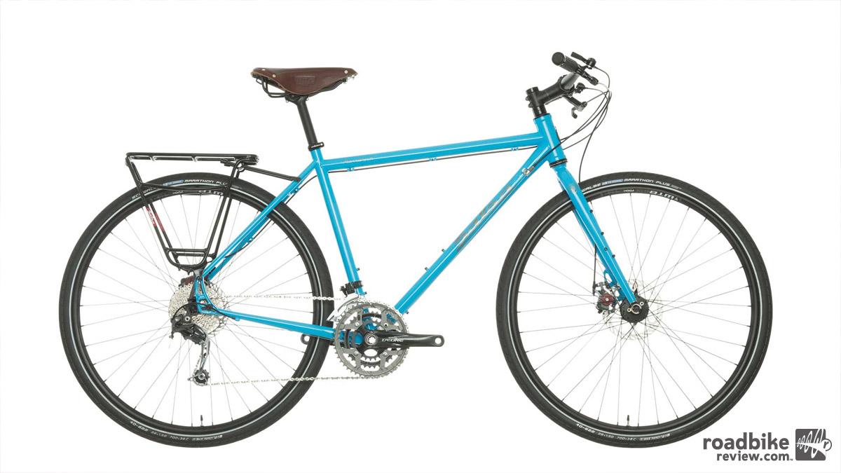 Salsa Marrakesh shown in light blue with flat bars.