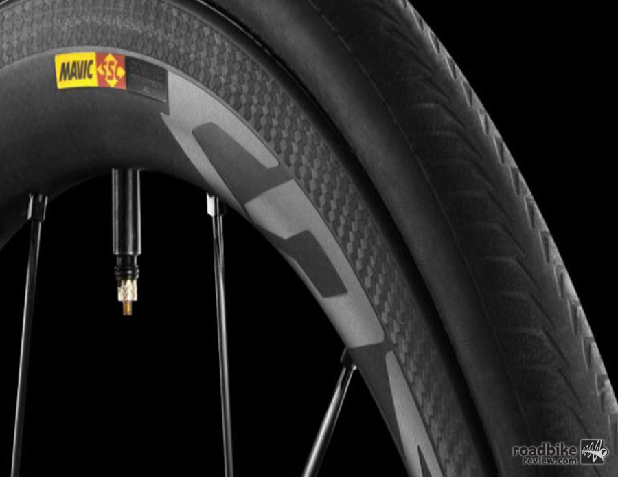 Mavic claims the final shape of the rim bed is flawless straight out of the mold with no need for machining.