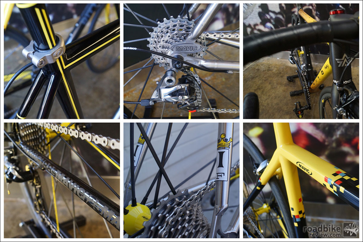 Mavic 125 Bike Details
