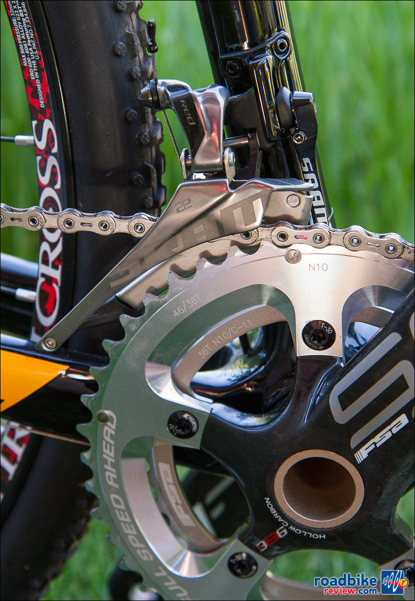 SRAM Red 22 Group on the new X-Night